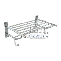Repisa portatoalla equipar hotel equipamiento para hoteles for Perchas cano