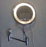 Espejos de tocador equipar hotel equipamiento para hoteles for Espejo aumento con luz