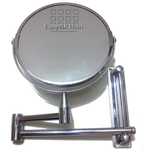 espejo de amurar doble faz doble brazo y regulacin en altura